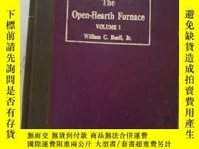 二手書博民逛書店THE罕見OPEN-HEARTH FURNACE volume