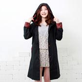 雨衣 格紋防水雨衣/風衣外套【EL1006】 icoca  04/07