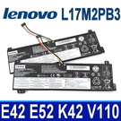 LENOVO L17M2PB3 2芯 原廠電池 2ICP6/54/90 L17C2PB3 L17C2PB4 L17L2PB3 L17L2PB4 L17M2PB4 V130-15IGM 81HL 81HN 系列