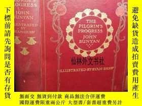 二手書博民逛書店【罕見】約1910年出版 The Pilgrims Progre