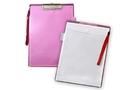 [ABEL] 便利袋板夾-A4(粉紅)