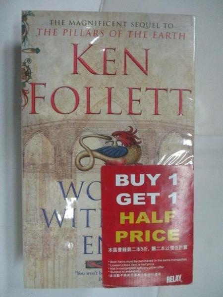 【書寶二手書T1/原文小說_HG9】World Without End_Ken Follett