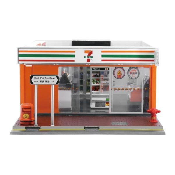 《 Tiny 》7-Eleven X Lulu豬 - 迷你超商發光場景組(不含內部即景) / JOYBUS玩具百貨