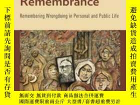 二手書博民逛書店Forgiveness罕見And RemembranceY364682 Jeffrey M. Blustein