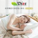 【熱銷萬顆】天然乳膠枕頭 - 超柔觸感天絲 夢享枕 (舒頸止鼾型) 迪奧斯