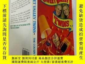 二手書博民逛書店SWEET罕見VALLEY TWINS :THE COUSIN WAR:甜蜜谷雙胞胎:表親戰爭Y200392