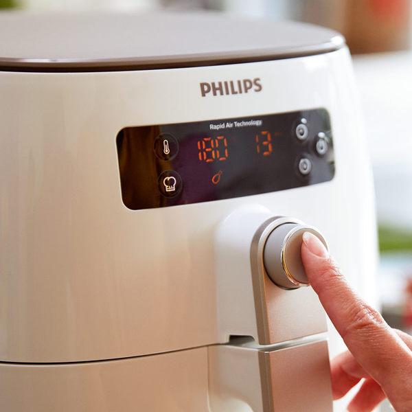 飛利浦PHILIPS新一代TurboStar健康氣炸鍋HD9642贈(專用煎烤盤+烘烤鍋+噴油瓶)