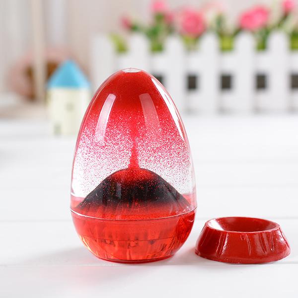 火山爆發油滴擺件趣味動感裝飾擺件學生禮品畢業禮物送同學(隨機出貨)─預購CH219