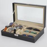 新款眼鏡收納盒18格展示盒太陽鏡展示架