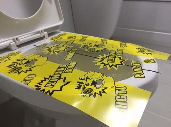 【大量現貨】韓國通馬桶貼紙疏通貼膜清堵膠紙PONGTU通馬桶下水管道堵塞神器 (P013)
