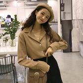 網紅上衣女裝港味2019新款韓版洋氣春秋襯衫寬鬆長袖雪紡學生百搭