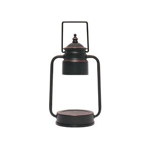 (組)EPOCHSIA x Pray守夜人金屬香氛蠟燭暖燈(S)-復古銅+酒紅櫻