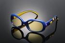 《FUTIS》AHT 兒童抗藍光眼鏡 防藍光 濾藍光 3C護目鏡 抗UV 防止眼睛疲勞 AB0006_C3 亮寶藍