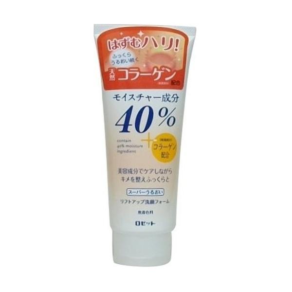 日本製/日本ROSETTE 膠原蛋白(彈力肌)洗面乳168g//大容量洗面乳