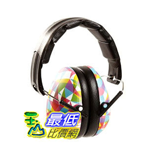 [2美國直購 2-12 歲適用] 新款 Baby Banz earBanZ Kids Hearing Protection, Geo Print, 2 -12+ YEARS 兒童防噪音耳罩