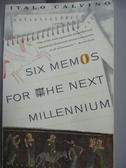 【書寶二手書T9/原文小說_LDO】Six Memos for the Next Millenium/the Charl