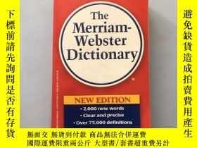 二手書博民逛書店The罕見Merriam-Webster Dictionary(