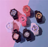 學院風手錶女中學生led夜光正韓簡約潮流ulzzang糖果色果凍電子錶