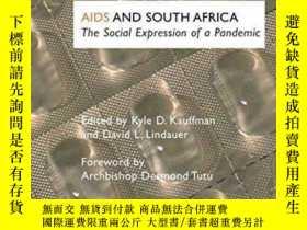 二手書博民逛書店AIDS罕見and South Africa: The Soci