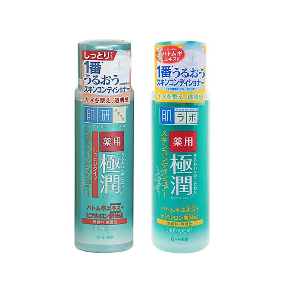ROHTO肌研 極潤健康化粧水(170ml) 滋潤型/清爽型 兩款可選【小三美日】化妝水