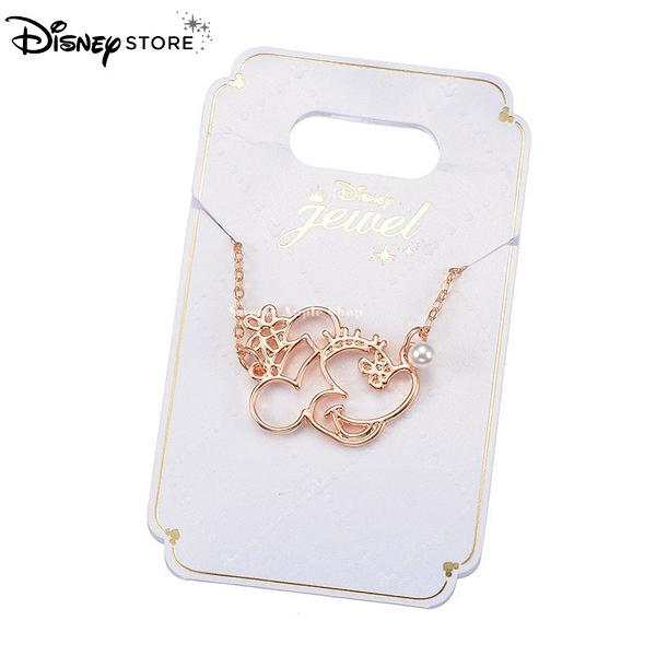 日本 Disney Store 迪士尼商店 限定 米妮 珍珠 項鍊