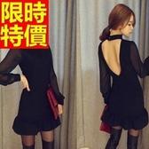 洋裝-夜店風派對閃耀特殊剪裁韓版連身裙63ab46【巴黎精品】