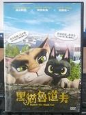 挖寶二手片-0B01-132-正版DVD-動畫【黑貓魯道夫】-日本暢銷國民童書改編(直購價)