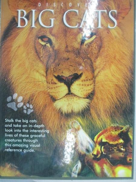 【書寶二手書T1/動植物_ET6】Discover Big Cats_Robert Frederick Ltd. (Bath, England)