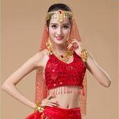 肚皮舞頭紗印度舞飾品紗巾成人頭巾