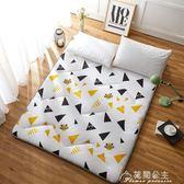 打地鋪睡墊可折疊防滑午休懶人床墊子卡通可愛臥室簡易榻榻米地墊花間公主YYS