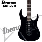 【非凡樂器】Ibanez GRG270 大搖座電吉他入門【吉他高品質首選/金屬黑/公司貨保固】