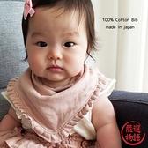 【日本製】日本製 Knock Knock 嬰兒 三層紗布 絲巾 黑綠色 SD-1793 -