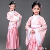 古裝唐裝女童古裝仙女裝表演服古代公主古箏漢服貴妃服裝 時尚潮流
