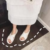 新款時尚百搭潮夏季溫柔仙女風交叉網紅孕婦平底涼鞋子女聖誕交換禮物