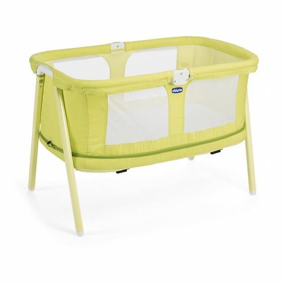 【愛吾兒】Chicco Lullago Zip可攜式兩段嬰兒床-萊姆翠綠
