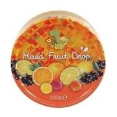 德國迪諾恐龍家族綜合水果味糖果粒200g*2罐【合迷雅好物超級商城】