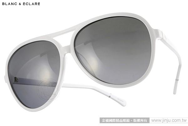 BLANC&ECLARE 太陽眼鏡 HONG KONG WH (白) 潔西卡個人品牌 城市系列 -- 香港 # 金橘眼鏡