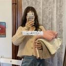 秋季復古寬鬆毛衣外套女裝秋裝2020年韓版百搭薄款針織開衫上衣女 陽光好物