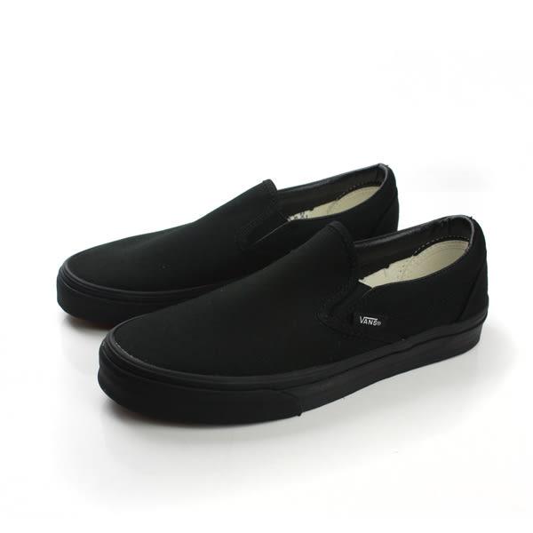 VANS Classic Slip-On 懶人鞋 帆布 基本款 經典 全黑 黑色 男女鞋 C966199 no325