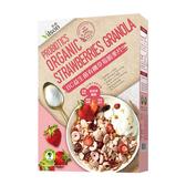 米森~BC益生菌有機草莓脆麥片300公克/盒