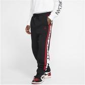 NIKE服飾系列-Jordan Air 男款黑紅色毛絨長褲-NO.BQ5665010
