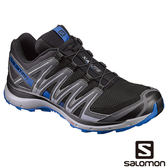 Salomon 男 XA LITE 野跑鞋-黑/陰影灰/皇家藍 L39330700【GO WILD】