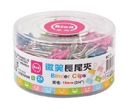 義大文具~展榮 BC070微笑長尾夾(19mm)