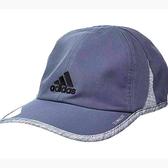 Adidas- 愛迪達男輕質吸濕排汗帽(瑪藍色)