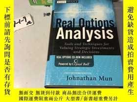 二手書博民逛書店Real罕見Options Analysis: Tools An