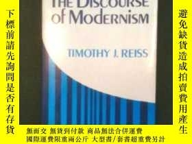 二手書博民逛書店The罕見Discourse Of ModernismY255562 Timothy J. Reiss Cor