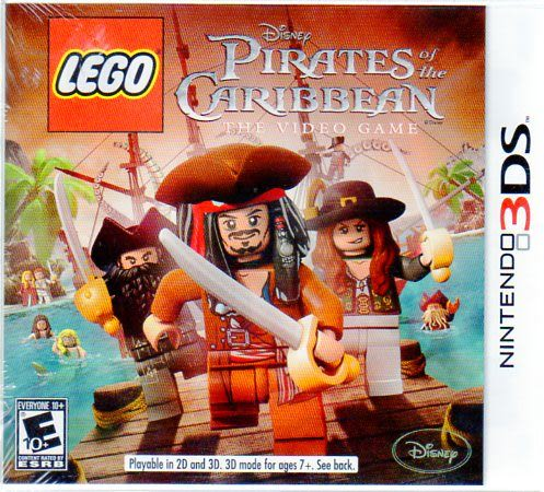 【玩樂小熊】3DS 專用 樂高神鬼奇航 LEGO Pirates of the Caribbean:The Video Game(美版)