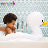 munchkin滿趣健-充氣式感溫天鵝造型浴盆