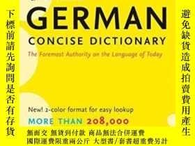 二手書博民逛書店Collins罕見German Concise DictionaryY255562 Not Available