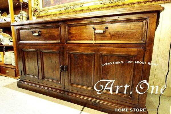 ART ONE 居家設計館 DS05020 百年老松木備餐櫃
